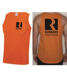 Team Rees Gym Mens Running Vest