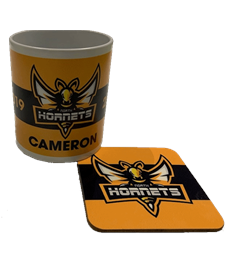 Hornets Mug & Drinks Coaster