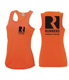 Team Rees Gym Womens Running Vest