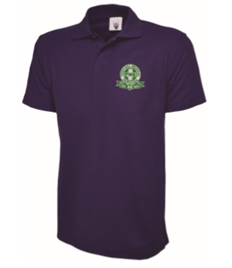 FREC RESPONDER Mens Purple Polo Shirt