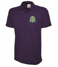 FREC RESPONDER Mens Purple Polo Shirt