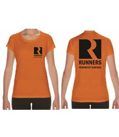 Team Rees Gym Womens Runners T-Shirt
