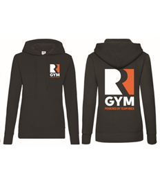 Team Rees Gym Womens Hooded Jumper
