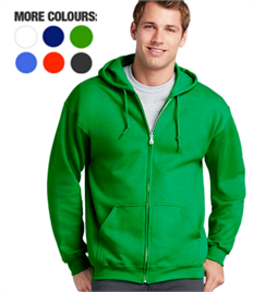 Zipped Hoody Complete with Your Logo (Min Qty:5)